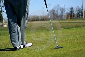 Secteur De Golf De Parc De Récréation Photo libre de droits - Image: 2299805