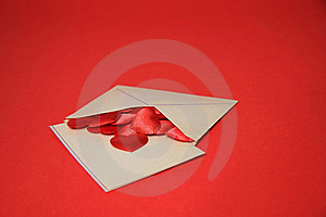 Love Envelope Royalty Free Stock Images - Image: 22901349