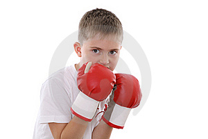 Boxing Boy Stock Photo - Image: 22903130