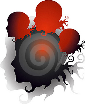Evil Thoughts Royalty Free Stock Photography - Image: 22907867