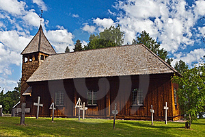 Old Stave Church Stock Photo - Image: 22913740