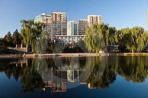 Skyline Of Beijing Royalty Free Stock Photos - Image: 22938758
