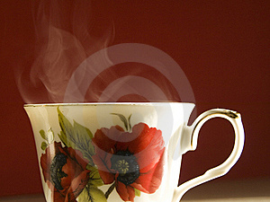 Vaporating Cup Of Tea Stock Photography - Image: 22941082