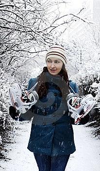 Ice Skating Stock Photo - Image: 22945550