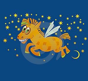 Joy Magic Horse Stock Photo - Image: 22945890