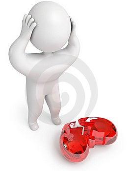 A Broken Heart Stock Photos - Image: 22947623