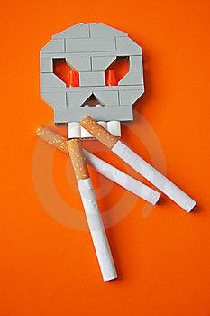 Symbol Of Harm Of Smoking Royalty Free Stock Photography - Image: 22948297