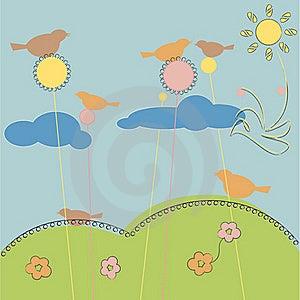 Dream Field Stock Image - Image: 22950831