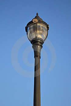 Light Post, Mt.Peak Park Royalty Free Stock Image - Image: 22951516