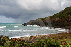 Rough Seas In Puerto Rica Stock Photography - Image: 22957102