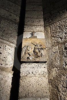 Via Crucis Icon Royalty Free Stock Photo - Image: 22957805