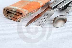 Cover And Napkin Royalty Free Stock Photo - Image: 22958245