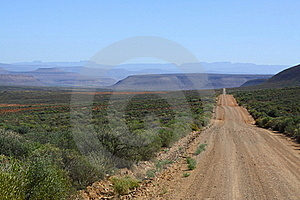 Karoo Back Roads Stock Images - Image: 22962144