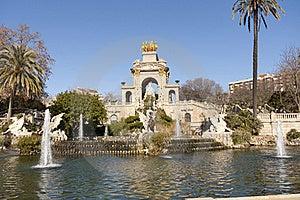Source Of Ciutadella Park Stock Photography - Image: 22962242