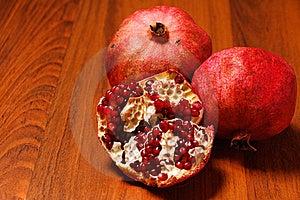 Ripe Pomegranates Royalty Free Stock Photography - Image: 22962347