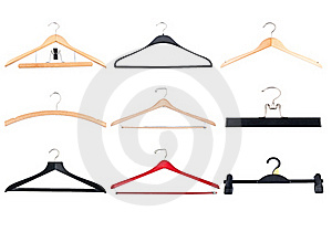 Cloth Hangers Stock Image - Image: 22963361