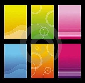 Set Of Shiny Background Royalty Free Stock Photography - Image: 22963727