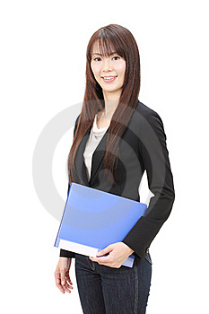 Young Asian Businesswoman Stock Images - Image: 22966634