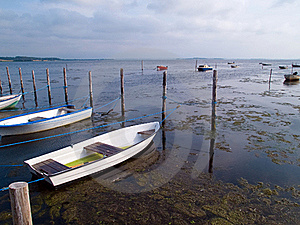 Small Dinghy Dory Boats Stock Image - Image: 22968051