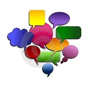 Abstract Big Speech Bubble Royalty Free Stock Photos - Image: 22969498