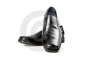 Black Men's Shoes Stock Image - Image: 22969931
