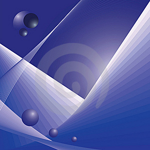 Abstract Futuristic Space Illustration Stock Image - Image: 22984781