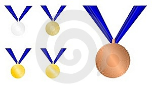 Award Medals Stock Image - Image: 22991451