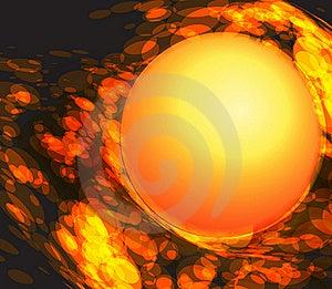 Fireball. Royalty Free Stock Photos - Image: 22997668