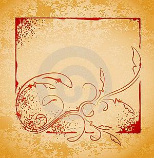 Retro Styled Background. Royalty Free Stock Images - Image: 22997979