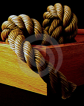 Rope In A Frame Free Stock Photos