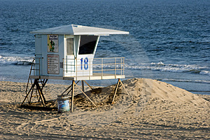 Lifeguard Tower Free Stock Images