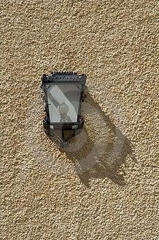 Светильник на стене Стоковые Изображения