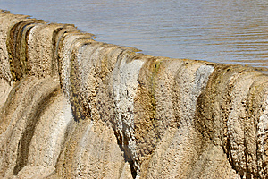 Hot Spring Terraces Free Stock Image