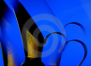 Lite blåttkanna Fotografering för Bildbyråer