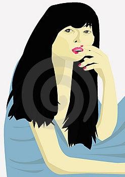 Asiatisches Mädchen Stockbilder