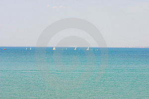 The Regatta Stock Image