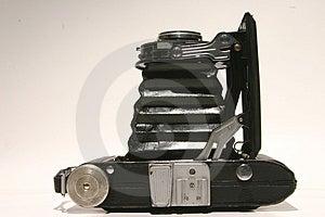 Harmonijkowa kamera od wierzchołka Fotografia Royalty Free