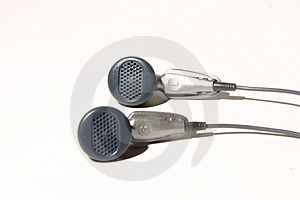 Earphones Stock Image