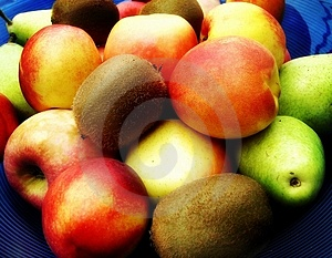 Bol de fruit Image libre de droits