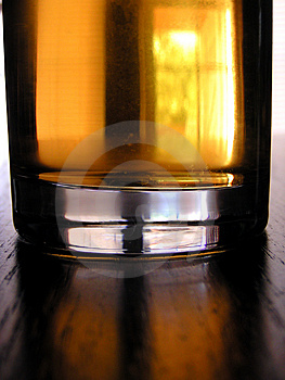 Verre d'applejuice Photo stock
