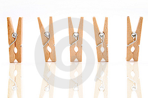 Clothespins Free Stock Image