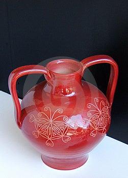 Red Vase Stock Photos