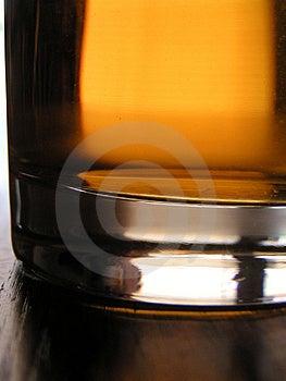 Glass Of Applejuice Closeup Stock Image