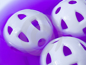 Plastic Balls Stock Photos