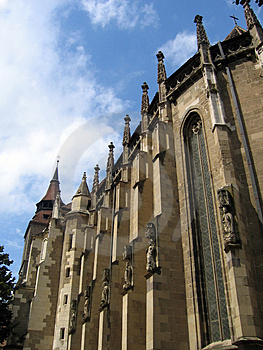 Schwarze Kirche – Brasov – Rumänien Stockbilder