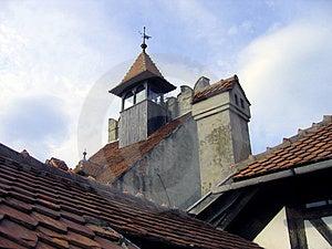 Bran Castle Detail - Romania Stock Photos