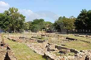 Archeological dig Royalty Free Stock Photos