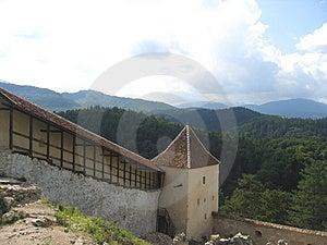 Rasnov-Festung – Rumänien Stockfotos