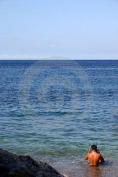 Snorkeling Free Stock Image