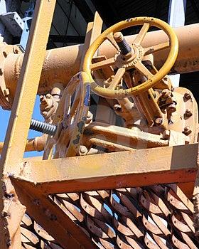 Yellow Machinery Free Stock Photo